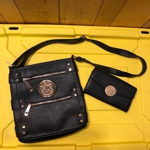 MK purse and matching wallet